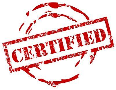 Label certifié