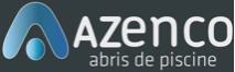 logo Azenco ; marque d'abri piscine