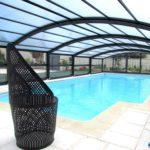 Abri de piscine mi-haut ARTECH MEDYO