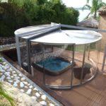 Abri spa Abrisud pour un spa au sol
