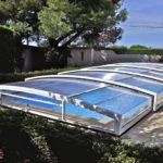 Abri piscine coulissant modèle Athènes de Bel Abri