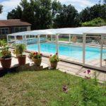 Abri de piscine haut coulissant modèle Athènes de Bel Abri